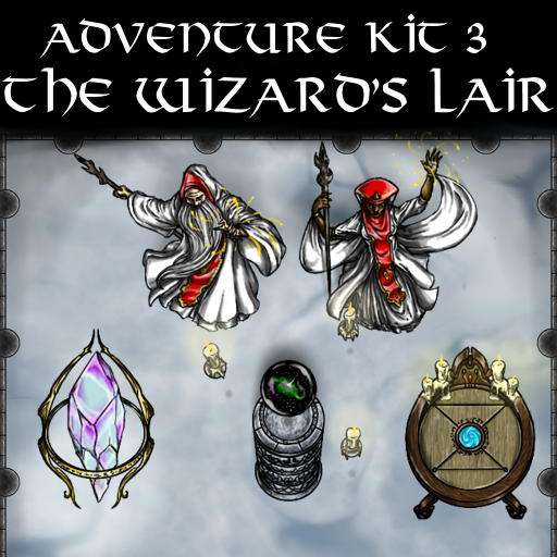 Adventure Kit 3 The Wizard's Lair