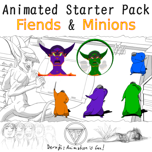 Animated Starter Pack - Fiends & Minions