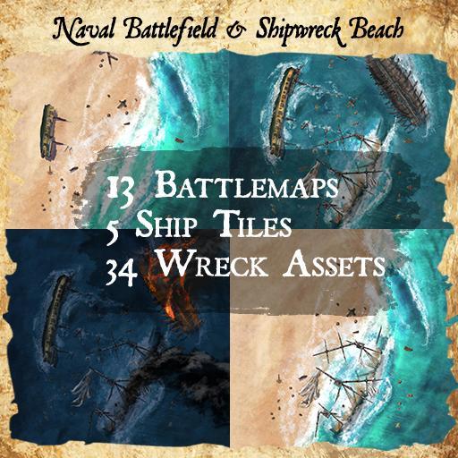 Naval Battlefield & Shipwreck Beach