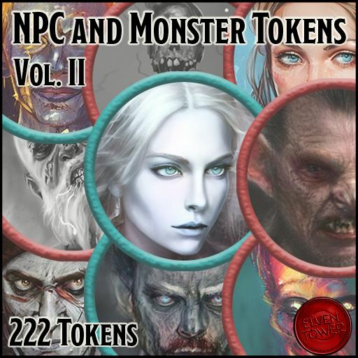 NPC and Monster Tokens - Volume 2