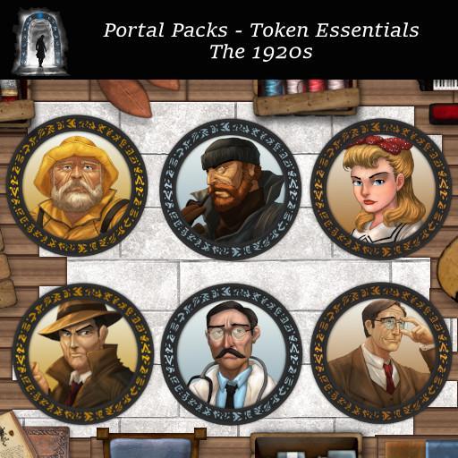 Portal Packs - Token Essentials - The 1920's