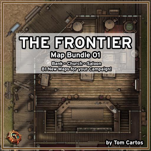 The Frontier Map Bundle 01