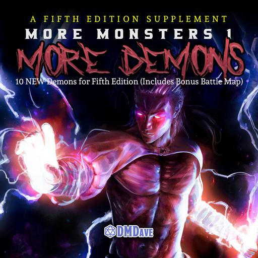 More Monsters 3: More Demons