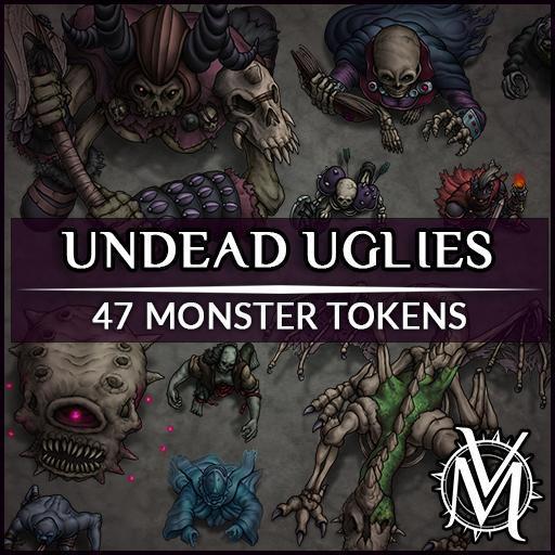Undead Uglies Token Set