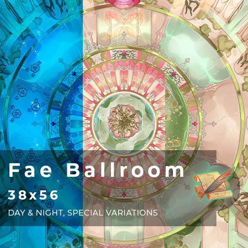 Fae Ballroom Battlemap