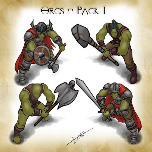 Orcs - Pack 1