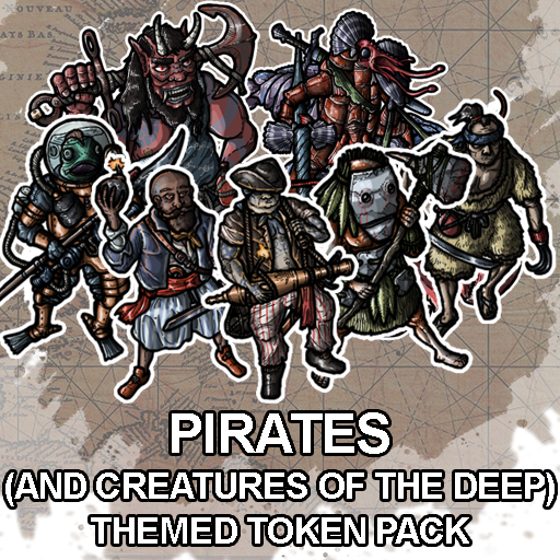 Pirates & Terrors of the Deep