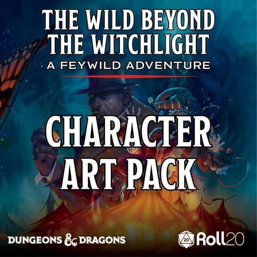 The Wild Beyond the Witchlight Character Art Pack