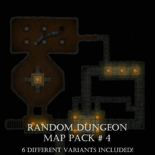 Random Dungeons Pack 3