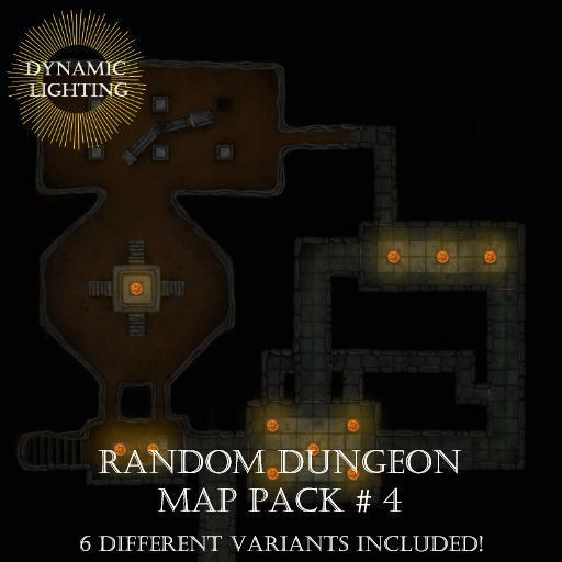 Random Dungeons Pack 3 - Dynamic Lighting