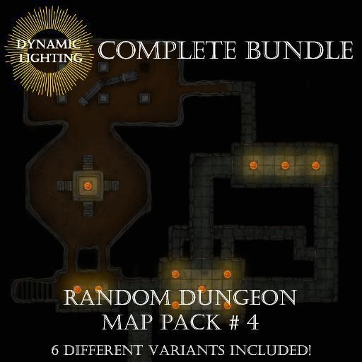 Random Dungeons Pack 3 Bundle