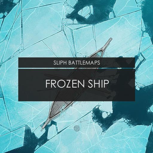 Frozen Ship   Battlemap