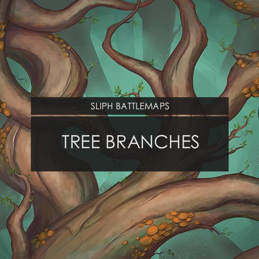 Tree Branches   Battlemap