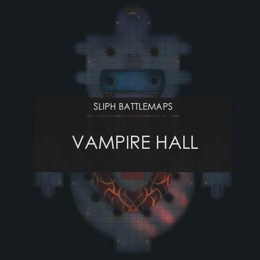 Vampire Hall   Battlemap