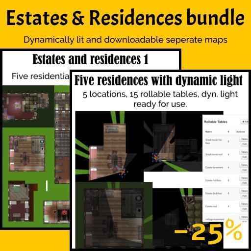 Estates and residences bundle