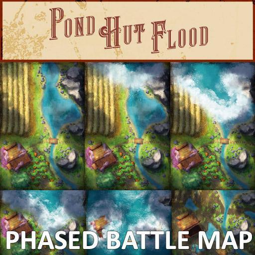 Pond Hut Phased Battle Map