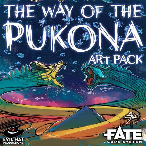 The Way of the Pukona: Art Pack