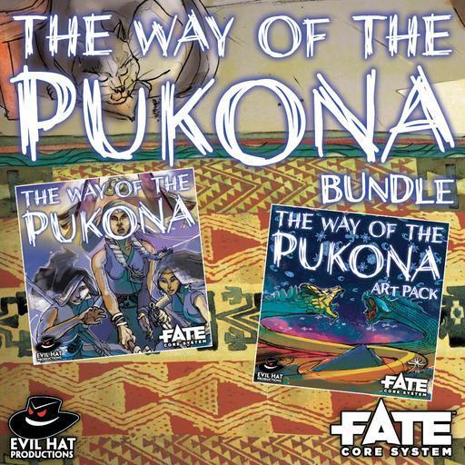 The Way of the Pukona: World and Art Bundle
