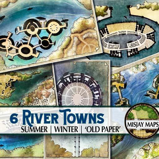 6 River Towns