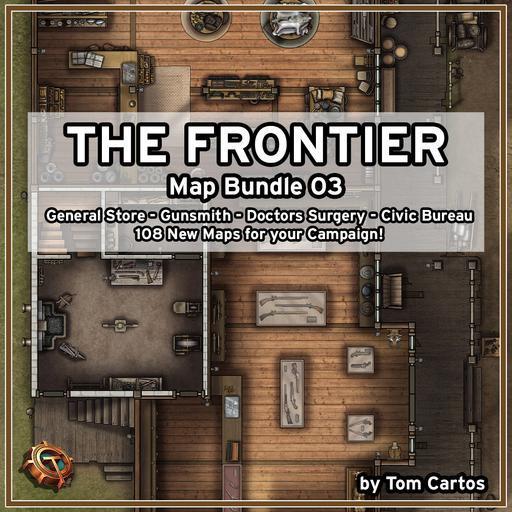 The Frontier Map Bundle 03