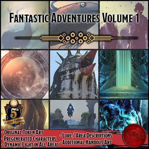 Fantastic Adventures Bundle - Volume 1