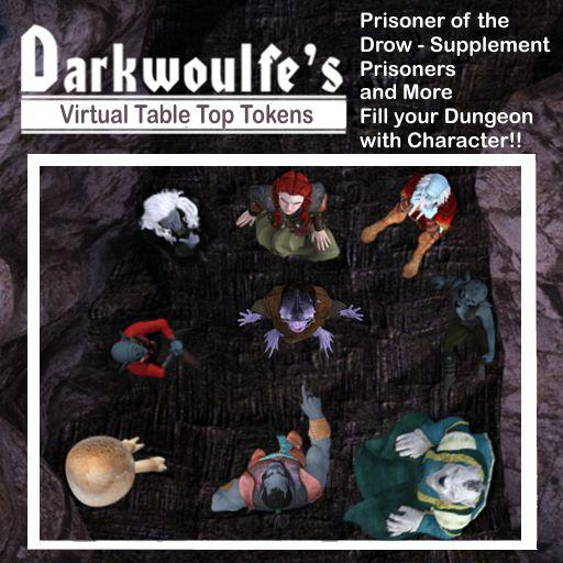 Darkwoulfe's Token Pack - Prisoner of the Drow Supplement