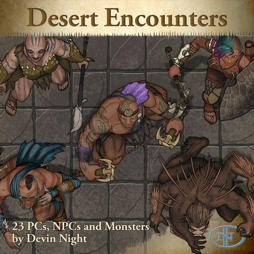 Devin Token Pack 85 - Desert Encounters