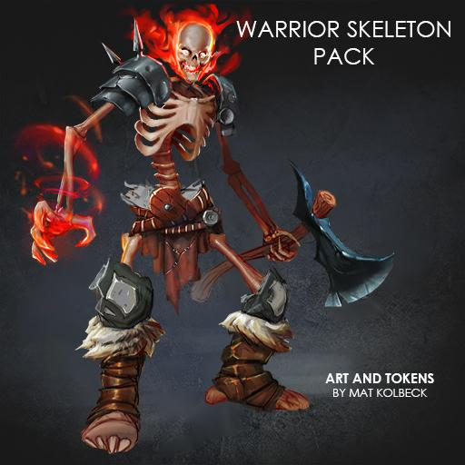 Warrior Skeleton Pack