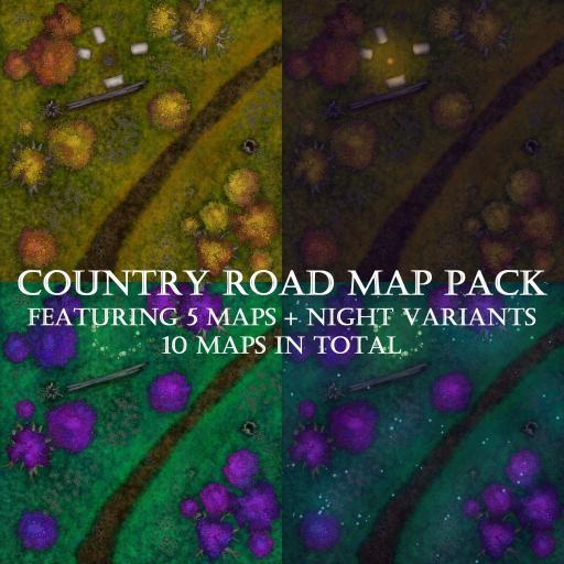 Country Road Map Pack