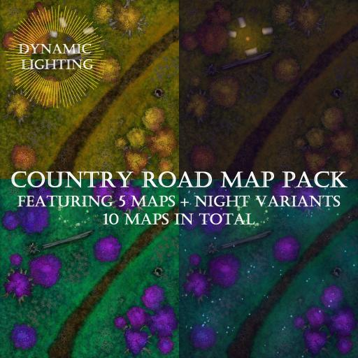 Country Road Map Pack - Dynamic Lighting