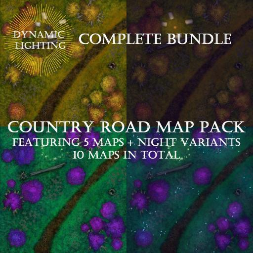 Country Road Map Pack Bundle