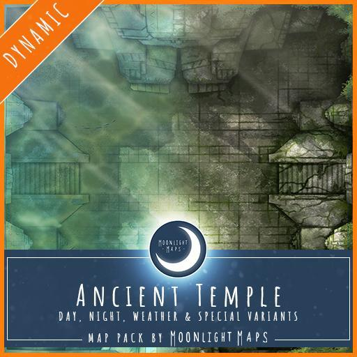 Dynamic   Ancient Temple