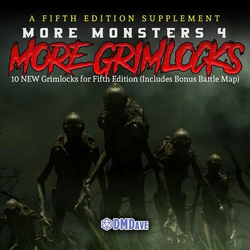 More Monsters 4: More Grimlocks