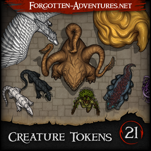 Creature Tokens - Pack 21