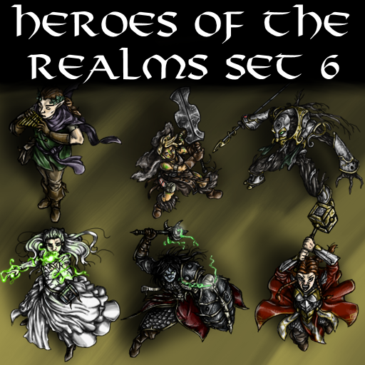 Heroes of the Realms Set 6