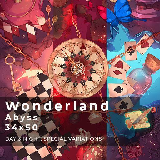 Wonderland Abyss Battlemap