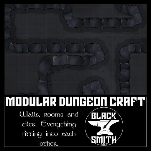 Modular Dungeon - Cavern