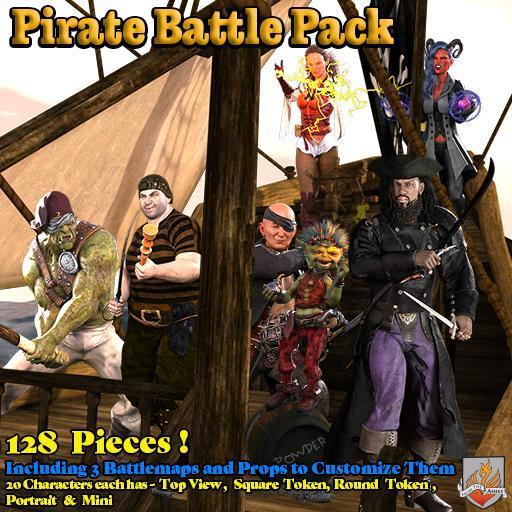 Pirate Battle Pack
