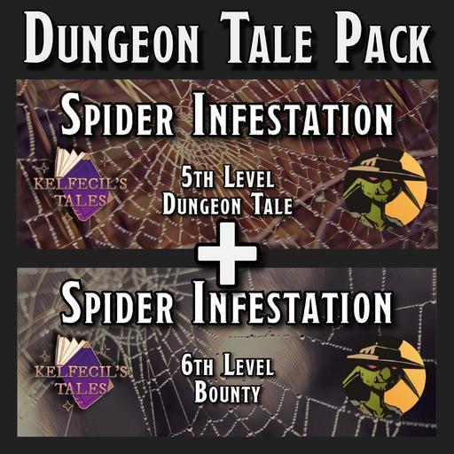 Dungeon Tale: Spider Infestation