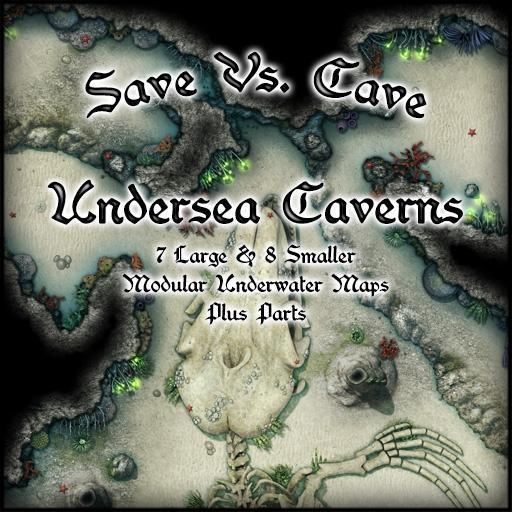 Save Vs. Cave: Undersea Caverns