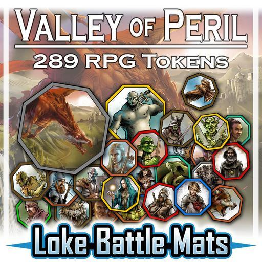 Valley of Peril - Tokens