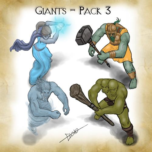 Giants - Pack 3