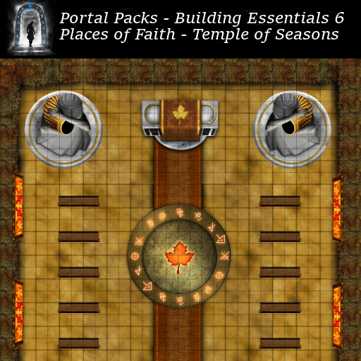 Portal Packs - Building Essentials 6 - Places of Faith - Temple of Seasons