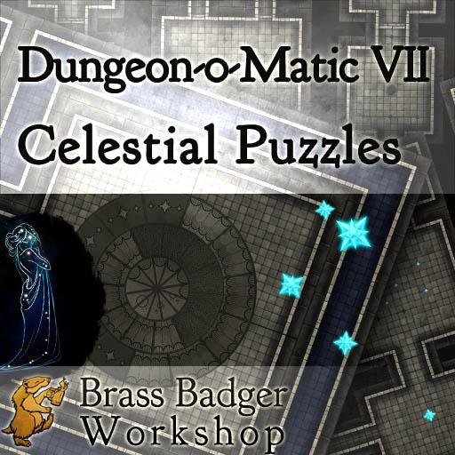 Dungeon-o-Matic VII - Celestial Puzzles