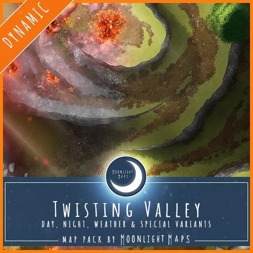 Dynamic   Twisting Valley
