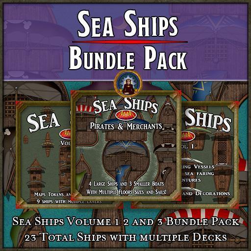 Sea Ships   Bundle Pack 1-3