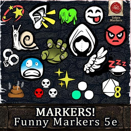 MARKERS! Funny Markers 5e