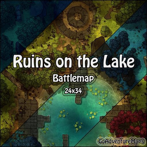 Ruins on the Lake
