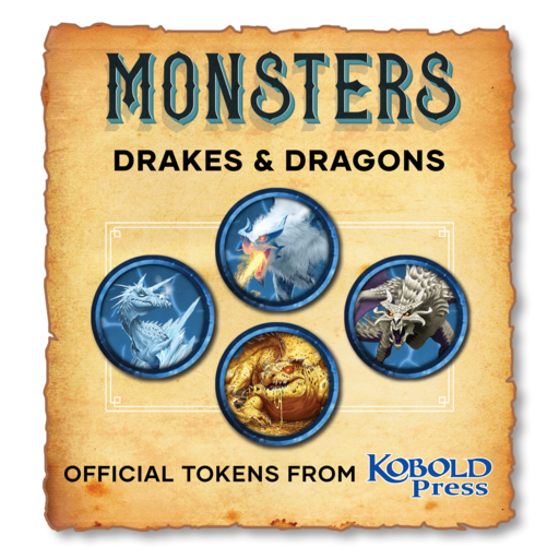 Monsters: Dragons & Drakes
