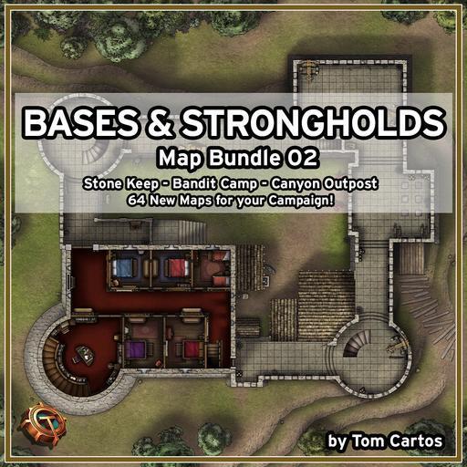 Bases & Strongholds Map Bundle 02
